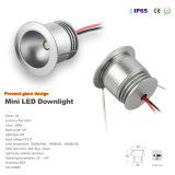 iluminación de bulbo al aire libre de la Navidad de la luz del punto de 1W IP65 LED
