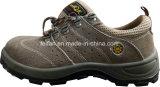 De Schoen van de Veiligheid van het leer met de Hogere Textiel van Schoenen