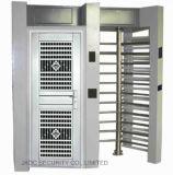 Doble cojinete SUS304 Fondo elegante de Seguridad Jkdj-200 torno de trípode para el Sistema de Control de Acceso