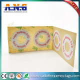 etiqueta CD passiva contra-roubo da etiqueta da freqüência ultraelevada RFID DVD de 40*16mm