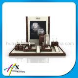 高品質の展覧会のためのアクリルの木の腕時計の陳列台
