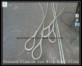 Solas hondas de la cuerda de alambre de la pierna - dedal y dedal 6X25 Eips brillante Iwrc