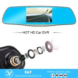 specchio di Rearview dell'automobile 5inch DVR Xy-9065D