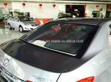Corollaのための通気性のメッシュ生地の物質的な鋼線の組み立てられた日よけ