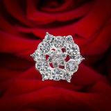 꽃다발 보석 모조 다이아몬드 진주 꽃다발은 신부 꽃다발 꽃 보석을 선택한다