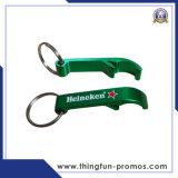 Подгонянный напечатанный металл Keychain Keychain консервооткрывателя бутылки