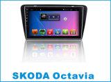 Système androïde lecteur DVD de véhicule de 10.2 pouces pour Skoda Octavia