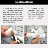 Una parte di colla resistente solvibile del PVC