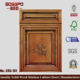 Porta de gabinete de madeira da cozinha de Sapele (GSP5-021)