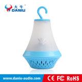 Altavoz bajo estéreo de Bluetooth del altavoz de radio de calidad superior de FM con la batería de la potencia con LED 2000mAh ligero
