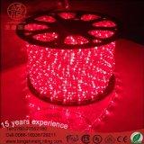 装飾の照明のための屋内および屋外の高品質LED円形の二線式ロープライト