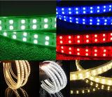El alto brillo SMD5050 110V 120V impermeabiliza la luz de tira del LED
