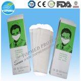 Máscara protetora de papel descartável de Coreia 1ply no certificado do FDA