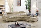 現代ホテルの贅沢な革レセプションのソファー(HX-FZ043)