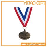 Kundenspezifisches Firmenzeichen-Decklack-Medaillon mit sublimiertem Farbband (YB-MD-12)