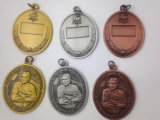 Pin отворотом медали, изготовленный на заказ полое организационное медаль (GZHY-MB-006)