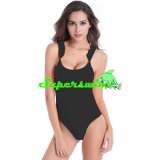 Jagged Shoulder Sexy Swimsuits para Lady
