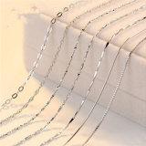 La collana d'argento S925 non ha pendenti