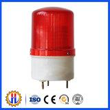 Indicatore luminoso d'avvertimento solare della gru a torre di colore rosso