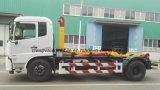 15 la venta caliente de T Dongfeng 4X2 15 toneladas de brazo del tirón cae el carro de basura
