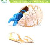 Il dinosauro magico di covata aggiunge giocattoli variopinti delle uova di dinosauro dell'acqua i crescenti