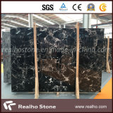 Marmo nero di pietra naturale per la parte superiore di vanità/la parte superiore/pavimento della cucina