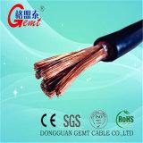 PVC électrique de câble cuivre ou câble automatique de batterie de câble isolé par caoutchouc