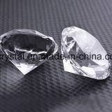 Paperweight de cristal do ofício da lembrança do diamante do tamanho K9 de 200mm grande