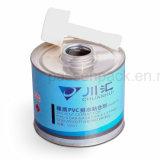 conteneur de bidon en métal 100ml pour l'emballage de colle de gomme de PVC (PPC-AC-0106)