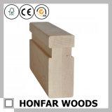 Corrimão de alta qualidade da madeira contínua do Poplar para a escada