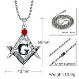 Colar Pingentes Novo Pingente Maçônico Venda Popular Titanium Steel Necklaces & Pendants