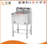 Hot Sale Commercial Kitchen 2-Tank Electric Deep Fryer Deep Fryer