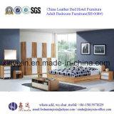 Foshan Muebles del hotel juego de cama de madera adulto Mobiliario de dormitorio (SH-003 #)