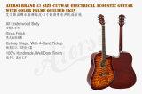 41 дюйм - гитара Sg028cae Cutway цвета высокого качества акустическая электрическая
