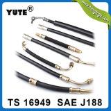 Alta pressione direzione di potere idraulica del tubo flessibile di SAE J188 di 3/8 di pollice