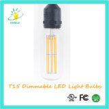 Bulbos listados de Edison da lâmpada do diodo emissor de luz do UL de Stoele T15
