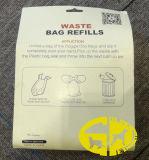 Пластичный мешок 8rolls и 16rolls отхода любимчика Poop собаки