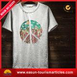 Qualité d'exportation du T-shirt 100%Cotton d'OEM