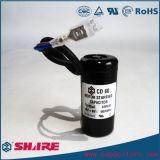 110V CD60 elektrolytischer Kondensator für das Anstellen des Bruchpferdestärken-Kondensators