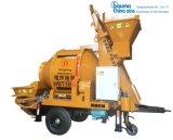 Bestseller hbt30c-1 van de Machines van Dingfeng de Concrete Mixer van de Trommel met Pomp