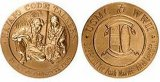 Medaglia di oro militare su ordinazione di alta qualità