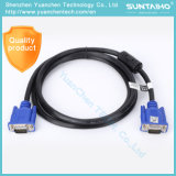 Mann Soem-HD 15pins zum männlichen VGA-Kabel für Computer