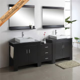 Module de bonne qualité de vanité de salle de bains en bois Fed-1107 solide