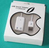 USBのサウンドカードViturl 7.1