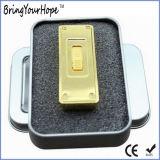 Entraînement de crayon lecteur de mémoire du modèle USB de barre d'or (XH-USB-125)