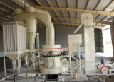 Pó do basalto que processa o moinho de moedura, moinho de Raymond para a pedra do rio