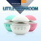 Cogumelo atómico rachado, lâmpada luminosa colorida, altofalante de Bluetooth