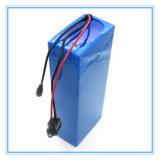 Batterie au lithium rechargeable 36V 12ah avec le cas de PVC pour le vélo électrique, chargeur de 42V 2A
