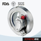 Vidrio de vista sanitario del grado del acero inoxidable con la luz (JN-SG2009)