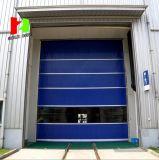 Auto rápidos da porta de alta velocidade industrial do congelador rolam acima a porta do PVC